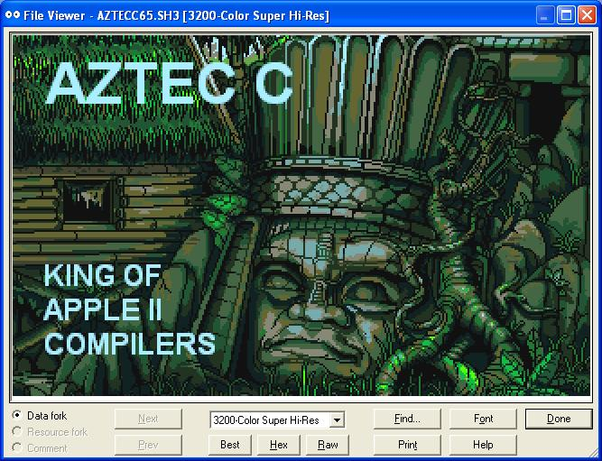 Apple II Graphics E And IIgs Inclusive